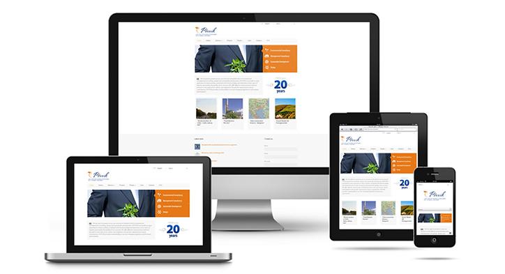 Responsive webpsite design